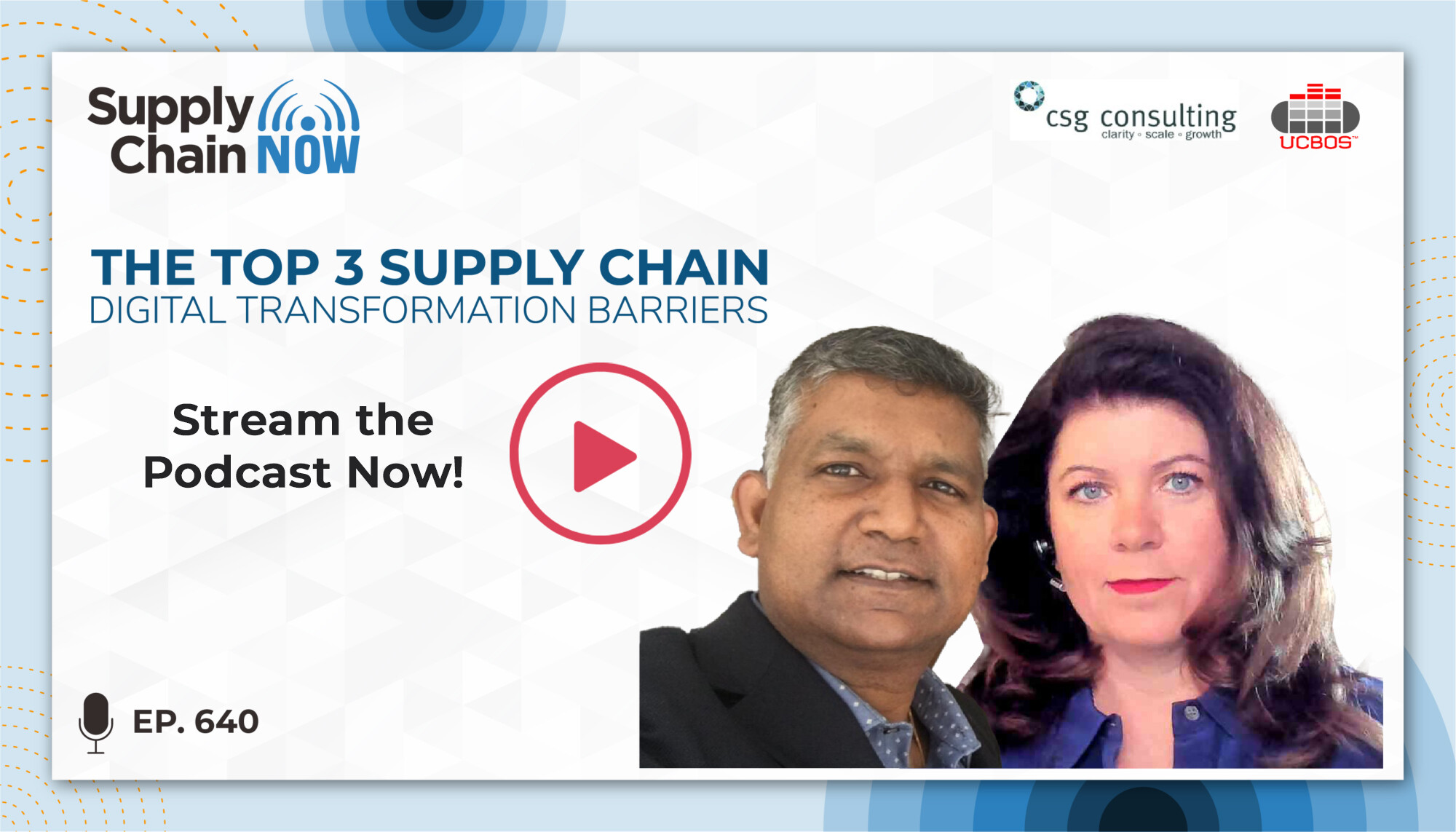 Supply Chain Digital Transformation Barriers Podcast
