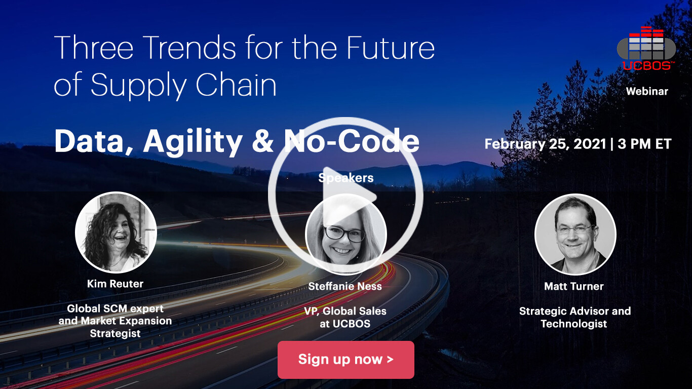 Three Trends for the Future of Supply Chain