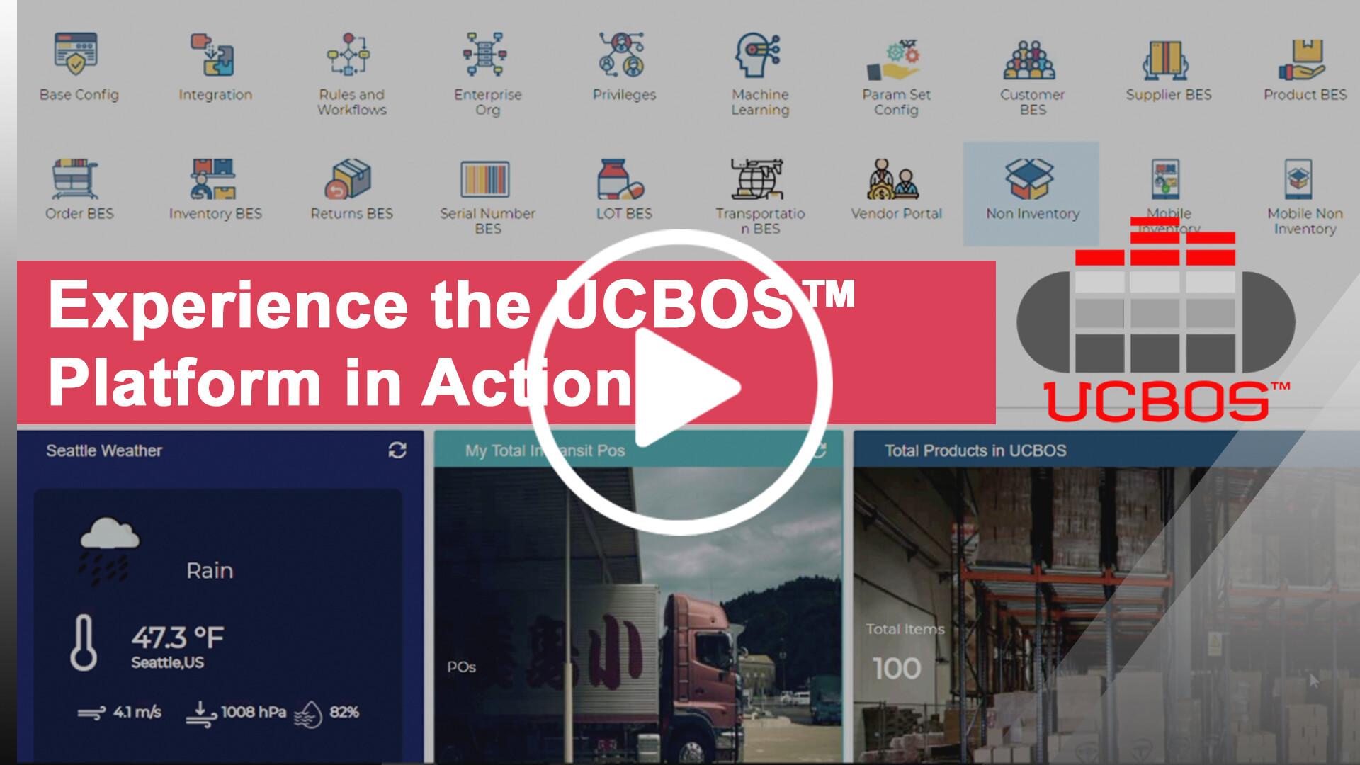 UCBOS Platform in action